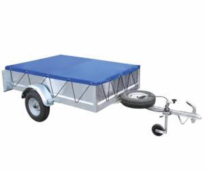 Zeil aanhangwagen met elastisch touw, 2080x1145x50 mm